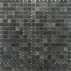 5/8 x 5/8 Polished Basalt Mosaic Tile