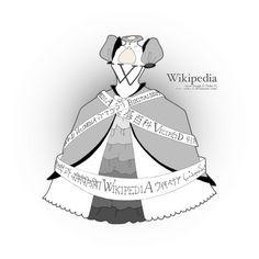 "Web in Vogue - ""Wikipedia"" by Victor Faretina"