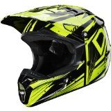 Fox Racing Undertow Adult V1 Off-Road Motorcycle Helmet - Black/Green / X-Large - Click on the Picture for more