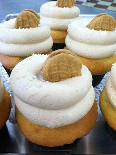 Fluffernutter Cupcakes!!!