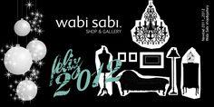 Felicitación Año 2012, Wabi Sabi Shop&Gallery