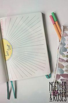 Bullet journal love list