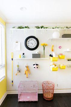 Mr. Kate - Adelaine Morin's Hello Yellow Bedroom Makeover