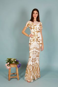 VESTIDO LILIT | Teria Yabar Primavera Verano 2020 Dresses, Fashion, Vestidos, Golden Brown, Spring Summer, Feminine, Moda, Fashion Styles, Dress