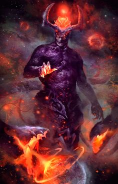 space demon by PumpkinPie92 on DeviantArt