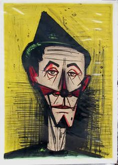 Find artworks by Bernard Buffet (French, 1928 - on MutualArt and find more works from galleries, museums and auction houses worldwide. History Of Clowns, Art History, Image Fruit, Image Halloween, Illustrator, Image Nature Fleurs, Images Vintage, Great Paintings, Museum