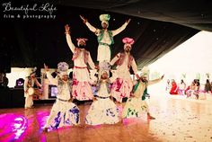 cultural dance performance for wedding | courtesy Beautiful Life Video & Photography | www.shaadibelles.com
