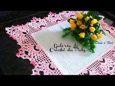 Barrado de Crochê com Canto #37 - YouTube