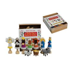 Rex Dolly Peg Nativity Scene Craft Kit