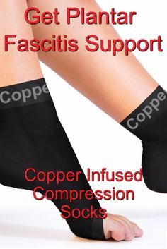 Foot Pain - Plantar Fasciitis Support Socks - Copper Compression Recovery Foot Sleeves - https://www.coppercompression.com/collections/feet/products/copper-compression-recovery-foot-sleeves-plantar-fasciitis-support-socks