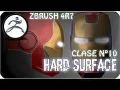 Tutorial Zbrush en Español #10 | Hard Surface Modeling (Modelado de Superficie dura) - YouTube