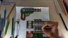 Dremico's Art Channel: Child of Terra Wildroot gun speed art