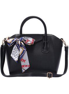Black Bow Embellished PU Bag 28.00