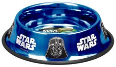Platinum Pets Star Wars 48 Ounce Embossed Non-Tip Bowl with Darth Vader Design #StarWars #Dog