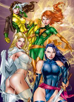 X-Women | Pencils by Ed Benes | Color by Tony Ramirez