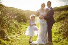 Bridesmaid summer evening light. Wedding. Rebecca Roundhill Photography.