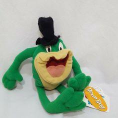 Looney Tunes J Frog Warner Bros Applause Bean Bag Plush 1997 Looney Tunes Bugs Bunny, Looney Tunes Cartoons, Doll Toys, Pet Toys, Bean Bag Toys, Frog Theme, Pepe Le Pew, Dinosaur Stuffed Animal, Stuffed Animals