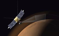 MAVEN's Ultraviolet Imaging Spectrograph (IUVS) uses limb scans to map the chemical makeup and vertical structure across Mars' upper atmosphere. It detected strong enhancements of magnesium and iron from ablating incandescing dust from Comet Siding Spring. Credit: NASA
