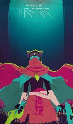 THE DRIFTER by ~0tacoon on deviantART  Hyper Light Drifter, a great indie game…