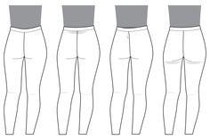 #Safran# Ajuster l'arrière du pantalon – Deer&Doe • le blog