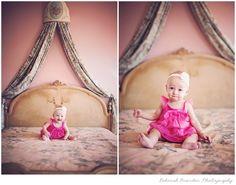 Sweet little 6 month old photo shoot.  Phoenix Childrens Photography #childrensphotography #newborn #photography #6months #ideas #photoshoot #photographysession http://www.deborahbrandonphotography.com