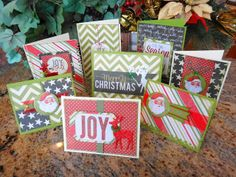 Quick and easy Christmas card using Heidi Swapp Believe collection.