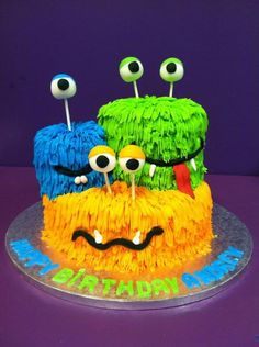 Monster cake. I'd use only one head though....