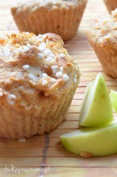 Akcja jedz jabłka! Muffiny jabłkowe z cynamonem. - Słodka Pracownia - Przepisy | Dekoracje | Przyjęcia