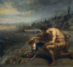 Theodor van Thulden, El descubrimiento de la Púrpura, s. XVII. Museo Nacional del Prado