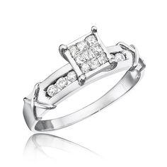 Solitaire vs. Cluster Diamonds | Landing Pages