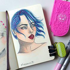 Lidiane Dutra, #Inktober 2016 day #4 #illustration #drawing #art
