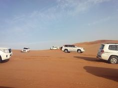 Rally in the middle of desert #emirates