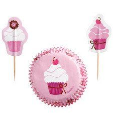 Pink Party Cupcake Combo Pack by Wilton