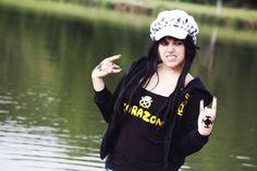 Trafalgar Law Cosplay Girl by K-chan6