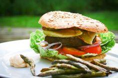 En low carb burger grill menu