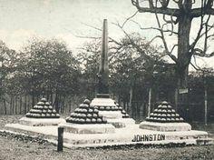 Photo of monument marking Albert Sidney Johnston's mortal wounding. Shilo Battlefield Shiloh Battlefield, Battle Of Shiloh, War Memorials, Confederate Monuments, American Civil War, Abraham Lincoln, Civilization, Tennessee, Ms