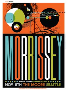 Invisible Creature - Morrissey poster