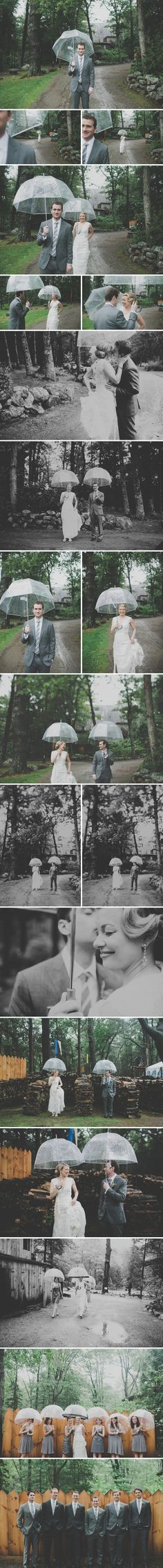 Rainy day wedding | Juan Maclean Photography
