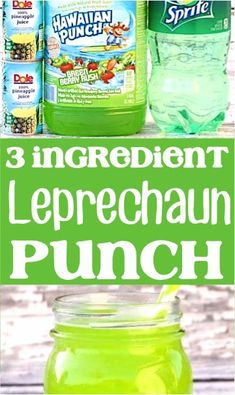 St Patricks Day Party Ideas For Adults! Punch recipes non alcoholic for a crowd are easy and great for kids! Easter Desserts, Summer Desserts, Summer Drinks, Fun Drinks, Beverages, Spring Recipes, Winter Recipes, Green Punch Recipes, 4 Ingredient Desserts