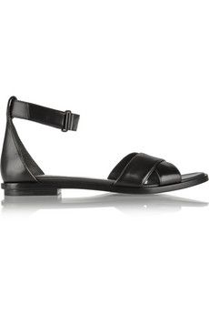 f3edaad67143dc Alexander Wang Talis leather sandals