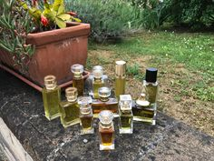 Perfumes composed during the course by one of our students Perfume Making, Wine Rack, Fragrance, Students, Nature, Decor, Decoration, Bottle Rack, Decorating
