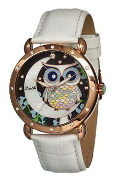 Rose Gold Owl Watch