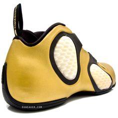 "Sneaker Talk: Let's Talk - Nike Air Flightposite 3 ""Battleground"" Best Basketball Shoes, Chelsea Boots, Nike Shoes, Cool Outfits, Nike Air, Footwear, Sneakers, Gold, Clothes"