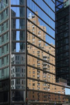 NYCim Spiegel_Isabella S. Minichmair_02wp Manhattan, Multi Story Building, Photography, Mirror Image, Musical Composition, Surface Finish, Abstract, Pictures, Fotografie