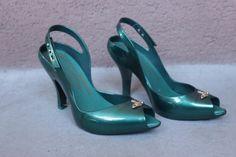 Vivienne Westwood Melissa Green Pumps  Size 39 by bazvintage
