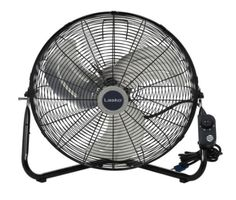 20 In. High-Velocity Floor Wall-Mount Fan Portable 3-Speed Electric All-Metal