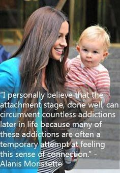 Alanis Morissette on attachment parenting and addictions. Yes so true! We have a history of addiction on both sides of the family. Peaceful Parenting, Natural Parenting, Gentle Parenting, Mindful Parenting, Foster Parenting, Kids And Parenting, Parenting Styles, Parenting Hacks, Alanis Morissette