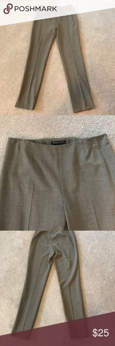 """NWOT Peace of Cloth Tan Dress Pants Polyester, Viscose and Spandex. Size 6. 30"""" inseam 14"""" leg opening. Peace of Cloth Pants Straight Leg"""