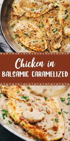 INGREDIENTS: 4 small boneless, skinless chicken breasts (or thighs) salt and pepper teaspoon garlic powder 1 tablespoon olive oil cu. Healthy Beef Recipes, Oven Chicken Recipes, Meat Recipes, Cooking Recipes, Easy Dinner Recipes, Easy Meals, Freezer Meals, Dinner Ideas, Chicken