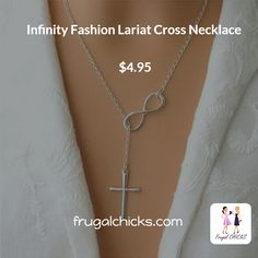 This necklace is the perfect way to show your infinity love to god in your life! Check here: